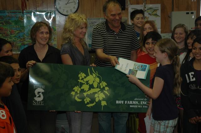 Thanks to Roy Farms of Moxee, WA